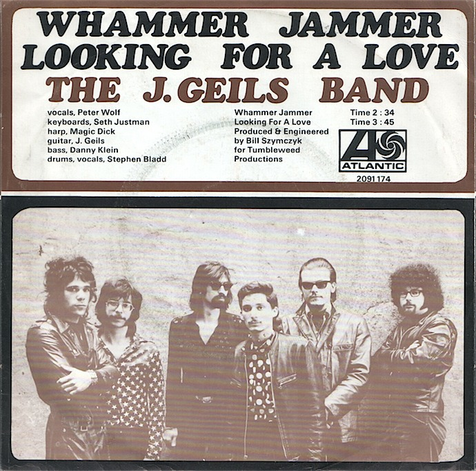 Image result for j geils band looking for a love