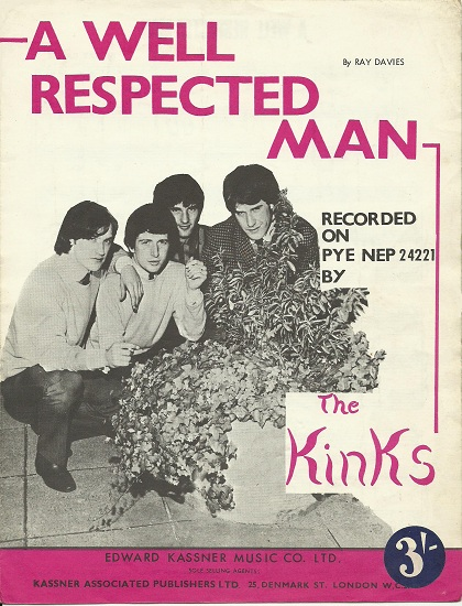 Image result for well respected man kinks
