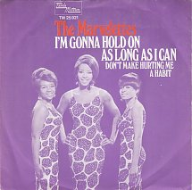 Image result for im gonna hold on as long as i can the marvelettes images