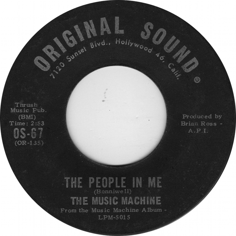 Image result for The Music Machine people in me original sound