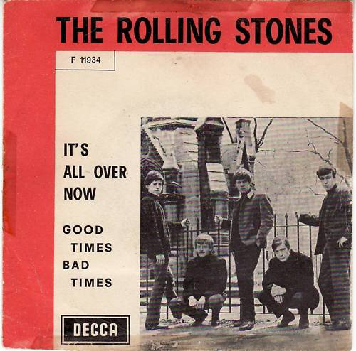 45cat - The Rolling Stones - It's All Over Now / Good ...