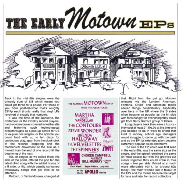45cat - Various Artists - The Early Motown EPs - Tamla ...