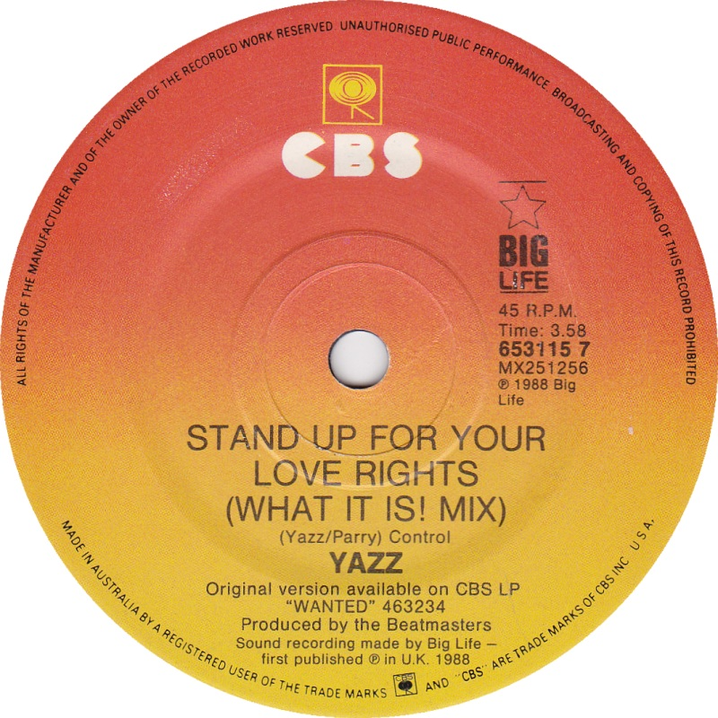 Yazz Stand Your Love Rights
