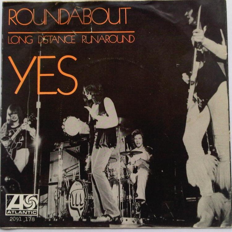 45cat - Yes - Roundabout / Long Distance Runaround - Atlantic - Netherlands  - 2091 178