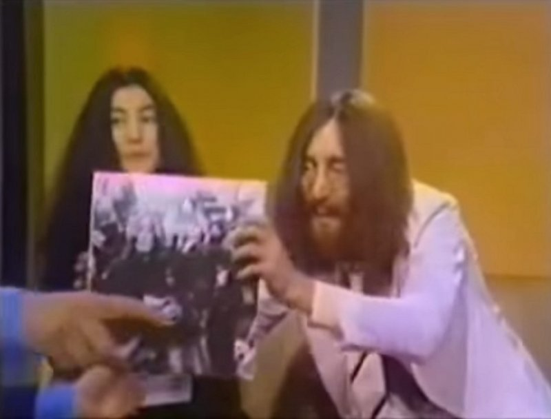 Image result for john and yoko david frost show images