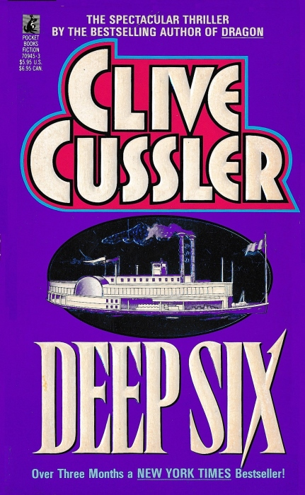 "Image result for ""Deep Six"" by Clive Cussler (1984)"