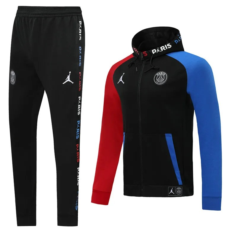 adults psg jordan hooded tracksuit 19 20