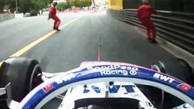 Formula 1: due marshals rischiano di essere investiti al GP di Monaco