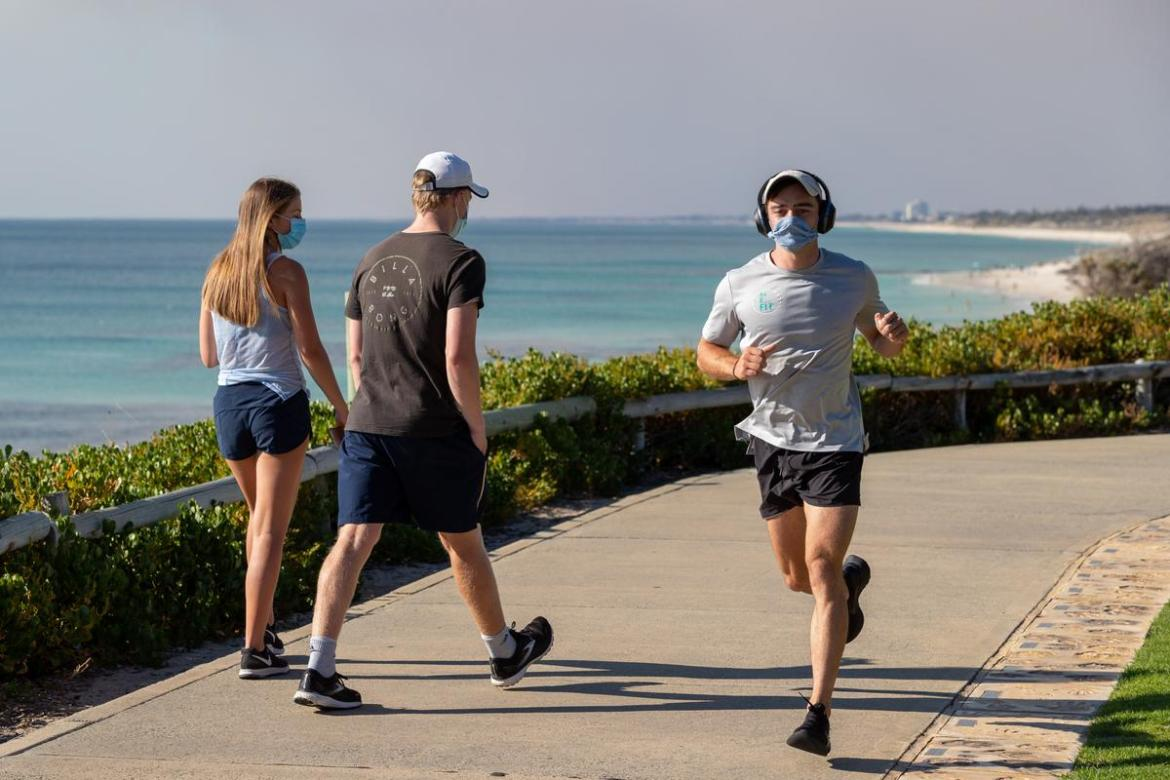 Masks will remain mandatory outdoors and on public transport, but not during vigorous outdoor exercise.