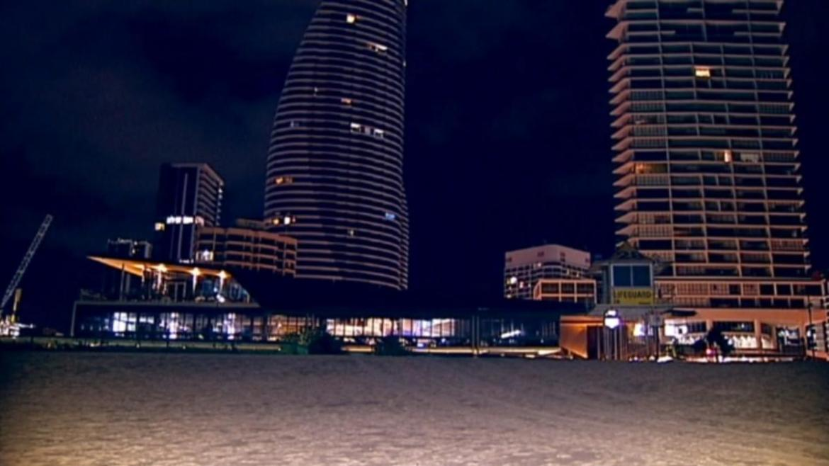 A view of Broadbeach, on the Gold Coast.