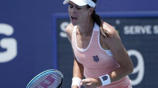 Tomljanović came out, passed Barty at the WTA Open