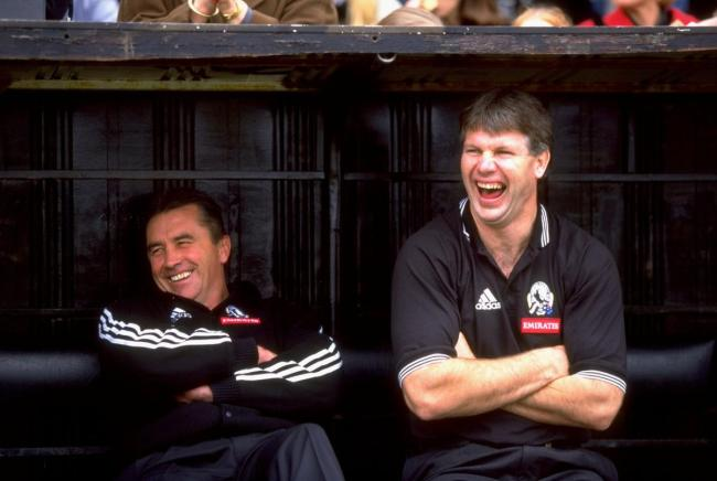 Danny Frawley's infectious laugh won't be soon forgotten by the football community.