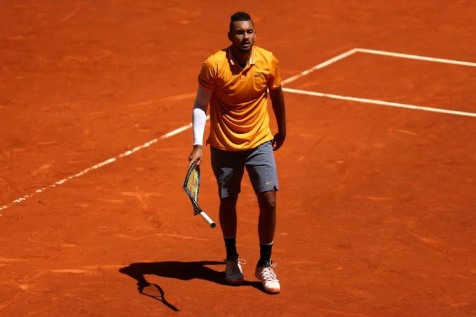 Australia was dumped out of the first round of the Madrid Open in straight sets by Jan-Lennard Struff.