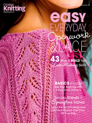 Easy, Everyday Openwork & Lace - Electronic Download