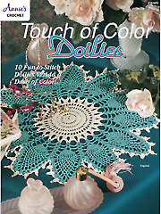 Touch of Color Doilies - Electronic Download