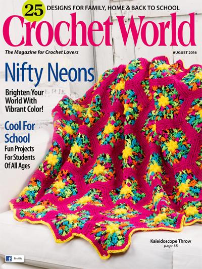 Crochet World August 2016