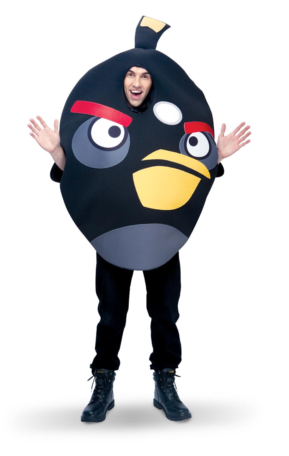 Rovio Angry Birds - Black Angry Bird Adult Costume