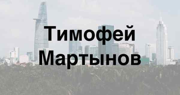 Обзор деятельности инвестора Тимофея Мартынова: как ...