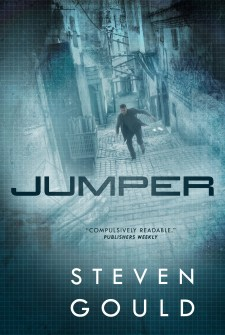 Jumper: A Novel by Steven Gould| wearewordnerds.com