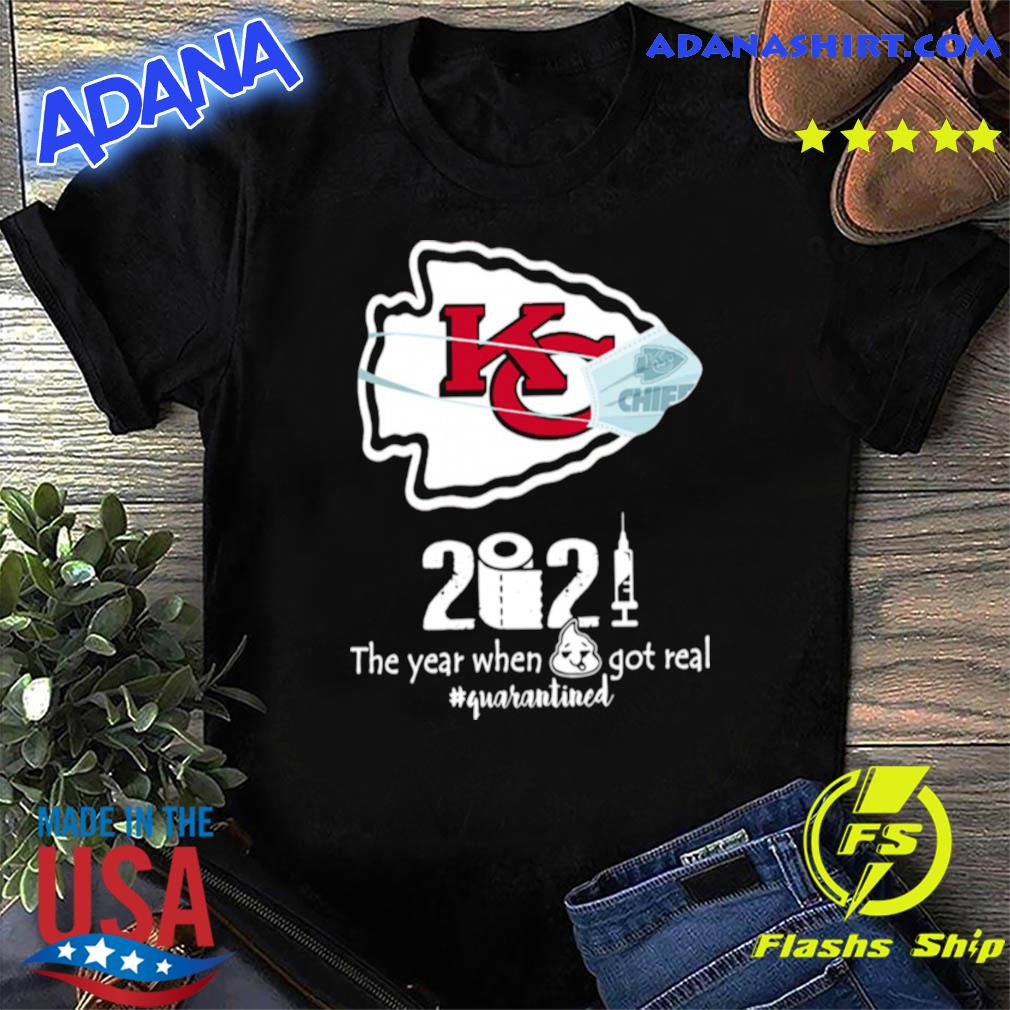 Traveling to kansas city on a budget? Kansas City Chiefs face mask 2021 toilet paper the year when got real quanrantined shirt, hoodie ...