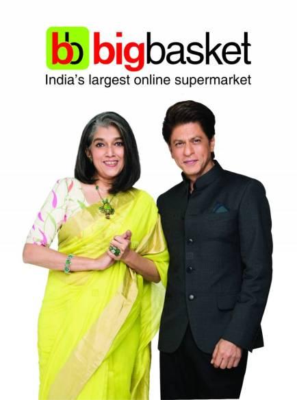 Image result for shahrukh khan big basket ad