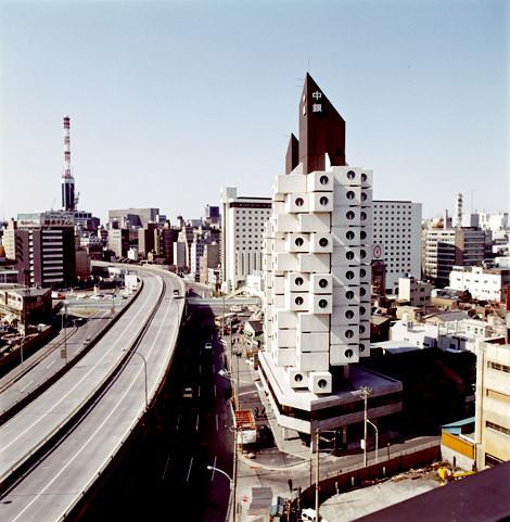 Image result for Kisho Kurokawa Nakagin Capsule 1972