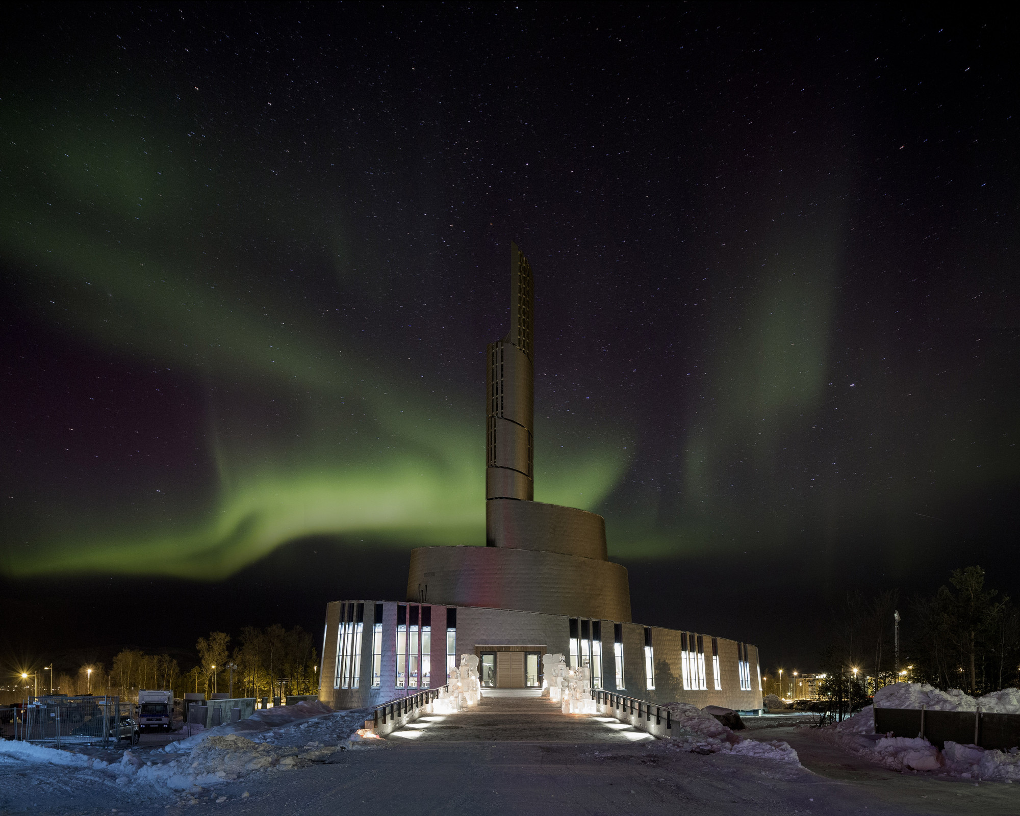 Cathedral Northern Lights