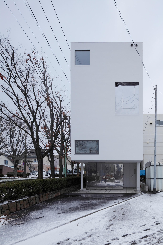 White Collage Keikichi Yamauchi Architect And Associates