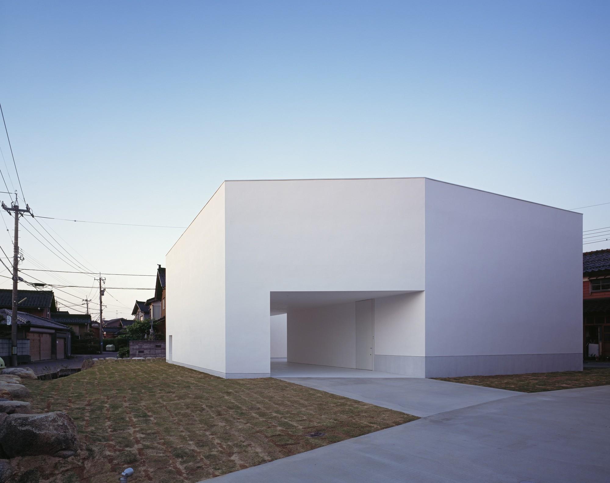 White Cave House Takuro Yamamoto Architects ArchDaily