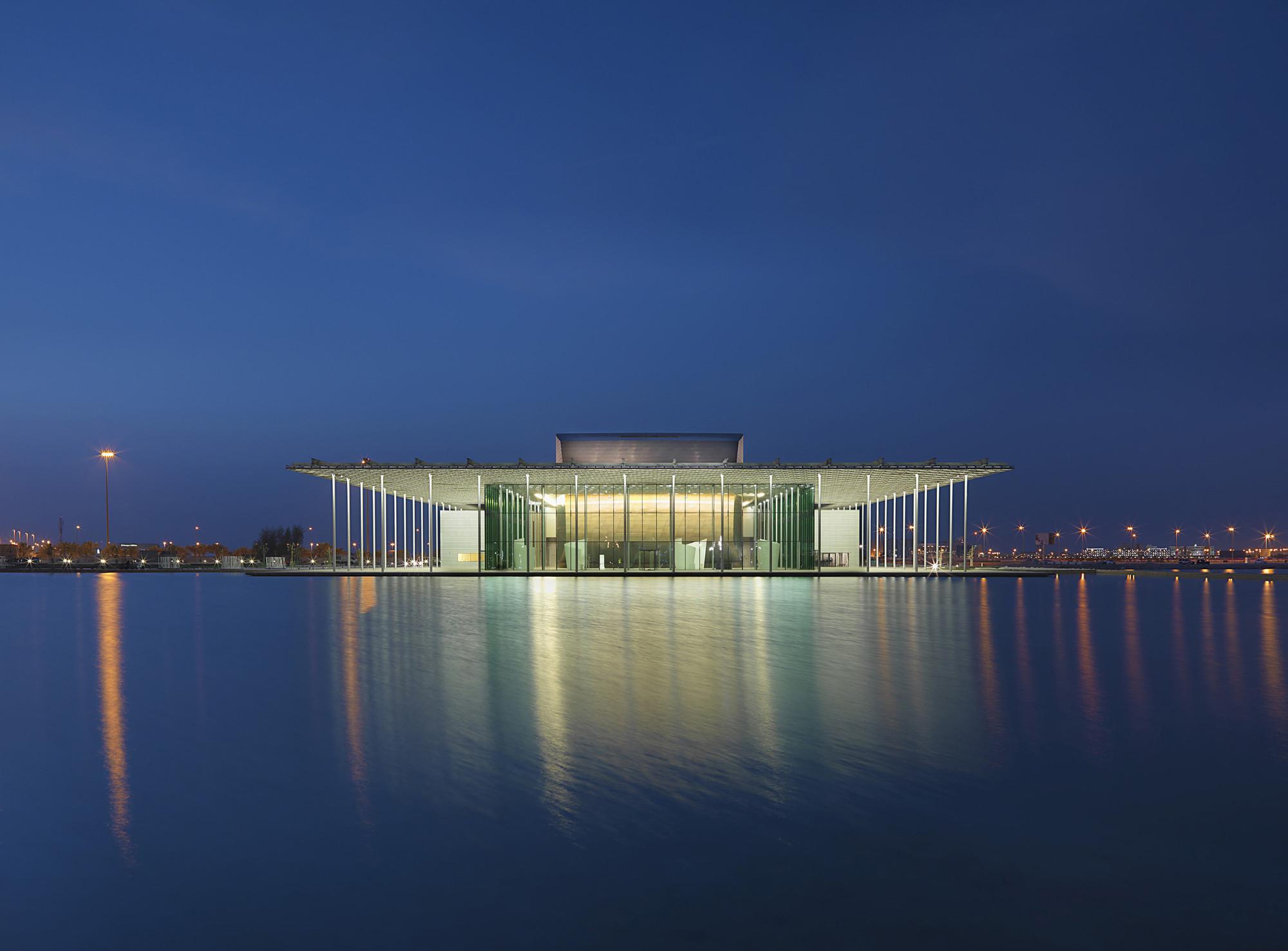 Bahrain National Theatre / Architecture-Studio   ArchDaily