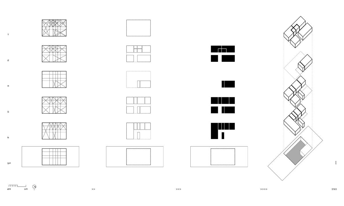 Tetris House  rzlbd   ArchDaily
