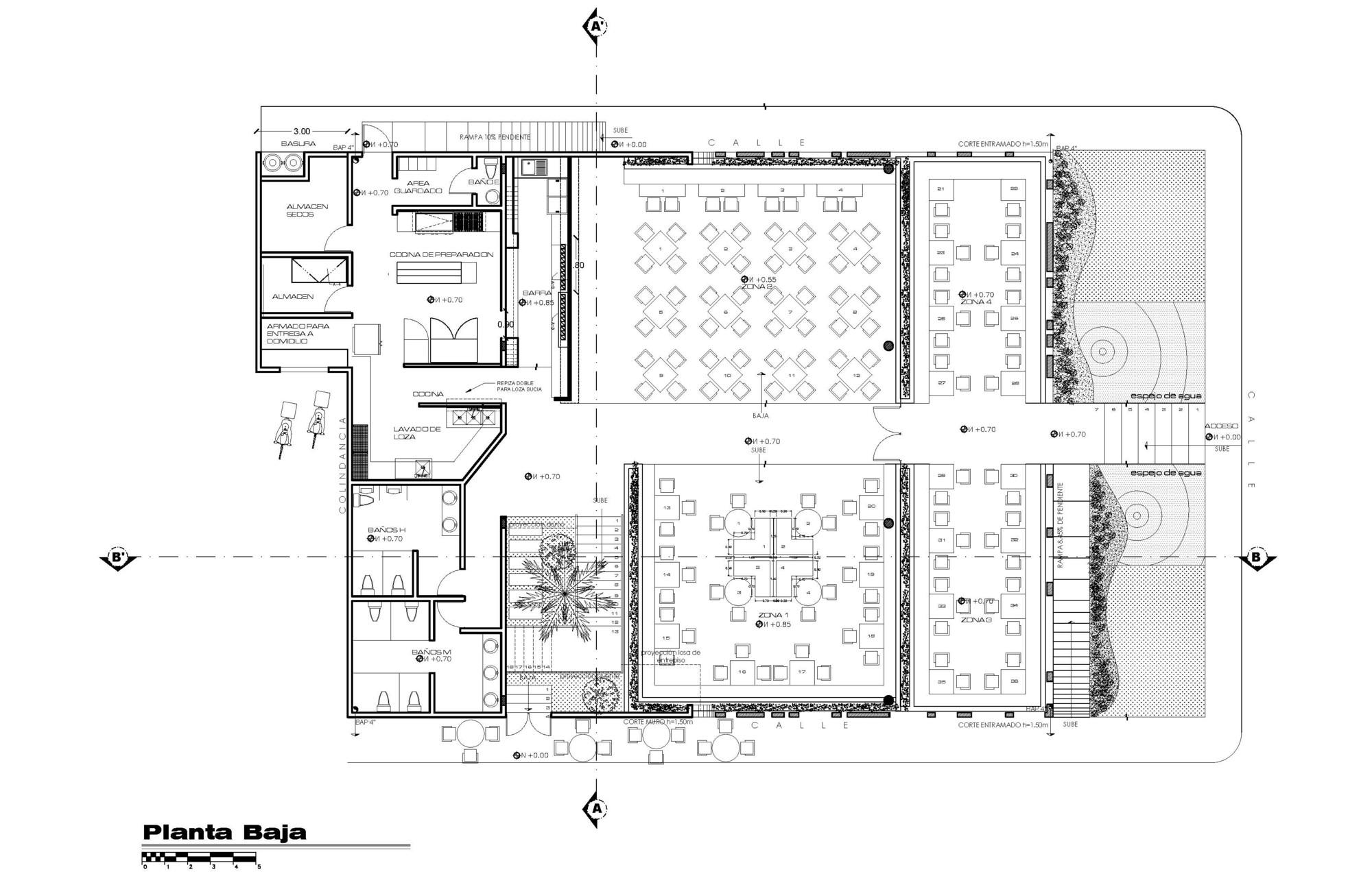 Kitchen Layout Plan Restaurants