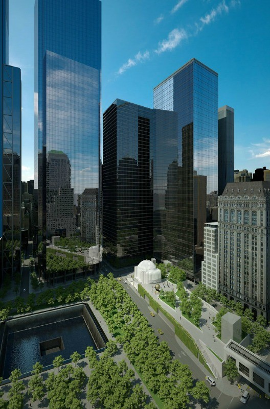 Elevated Park Planned For World Trade Center ArchDaily