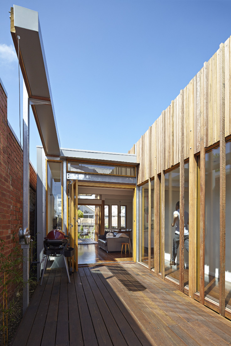 Gallery Of Convertible Courtyards House Megowan