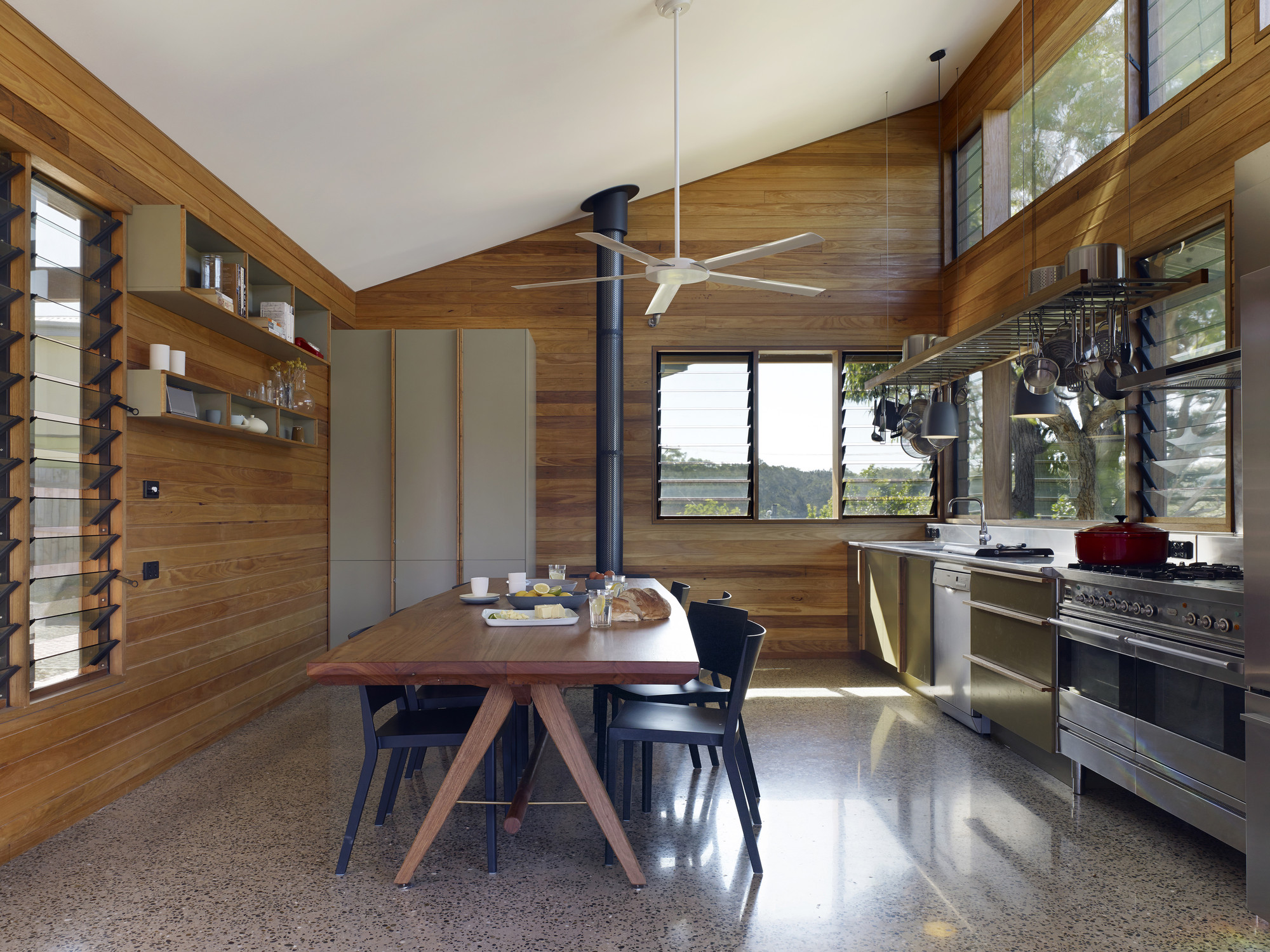 The Dogtrot House Dunn Hillam Architects Archdaily