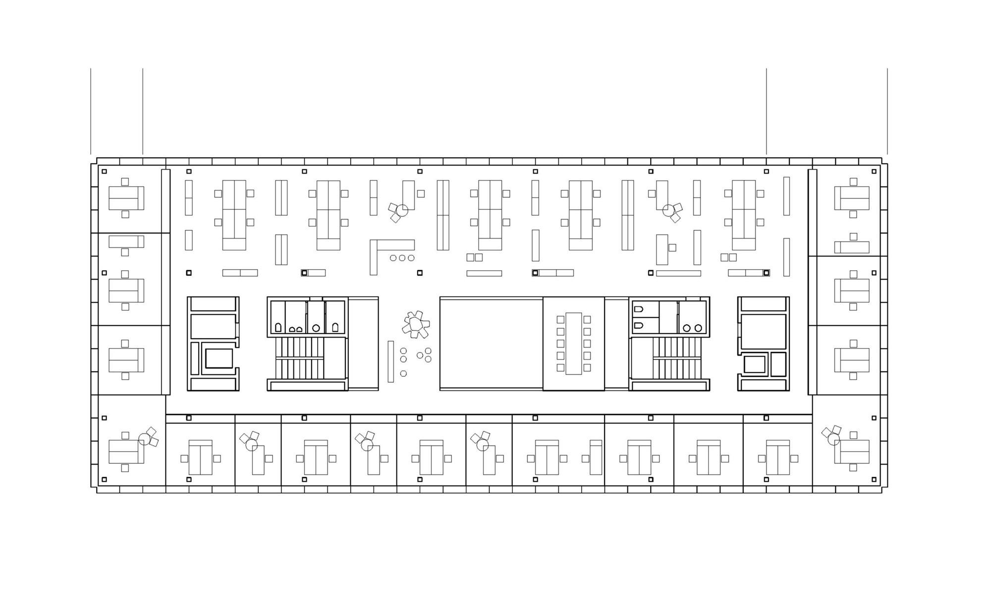 Gallery Of Office Building 200 / Nissen & Wentzlaff