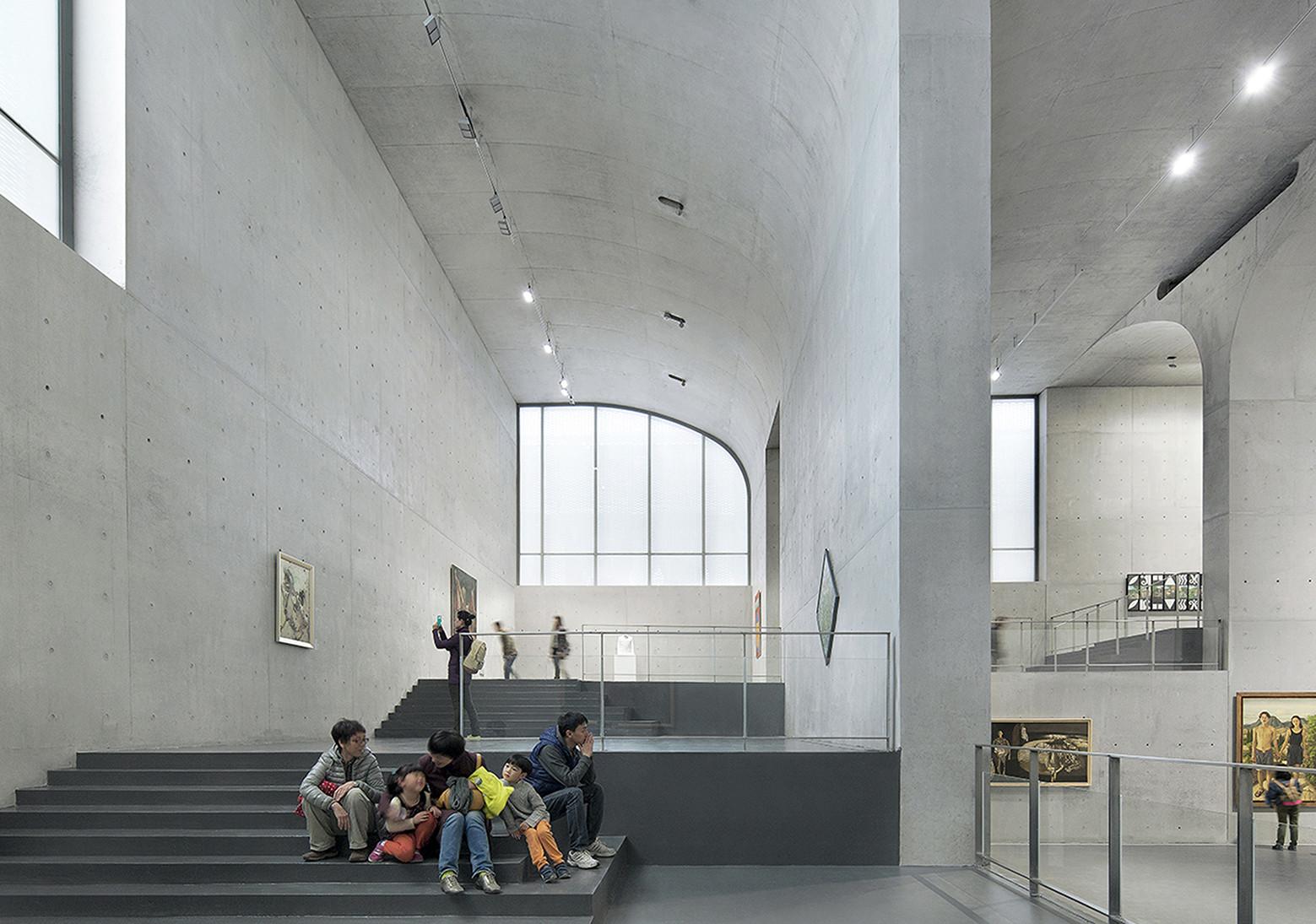 Gallery Of Long Museum West Bund Atelier Deshaus 21