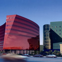 Red Building. Image Courtesy of StudioAMD