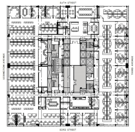 Typical Floor Plan. Image © viewthespace.com