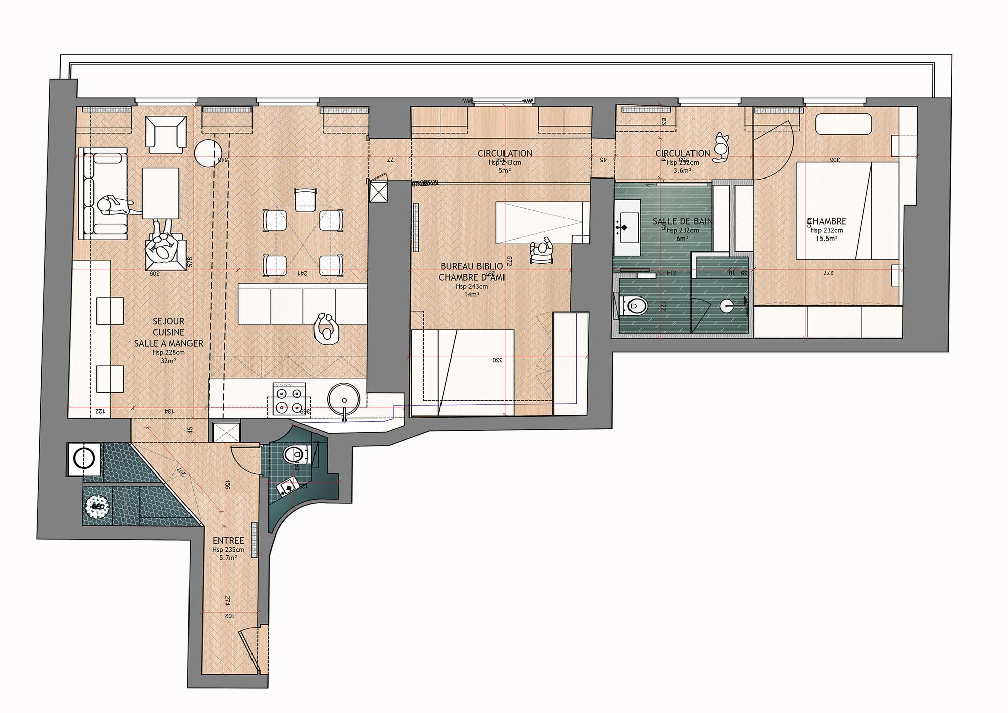 Galera De Renovacin De Apartamento Para Un Fotgrafo