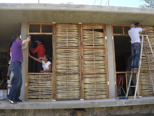 Construction Process. Image © Pedro Bravo, Sofia Hernández, Francisco Martínez