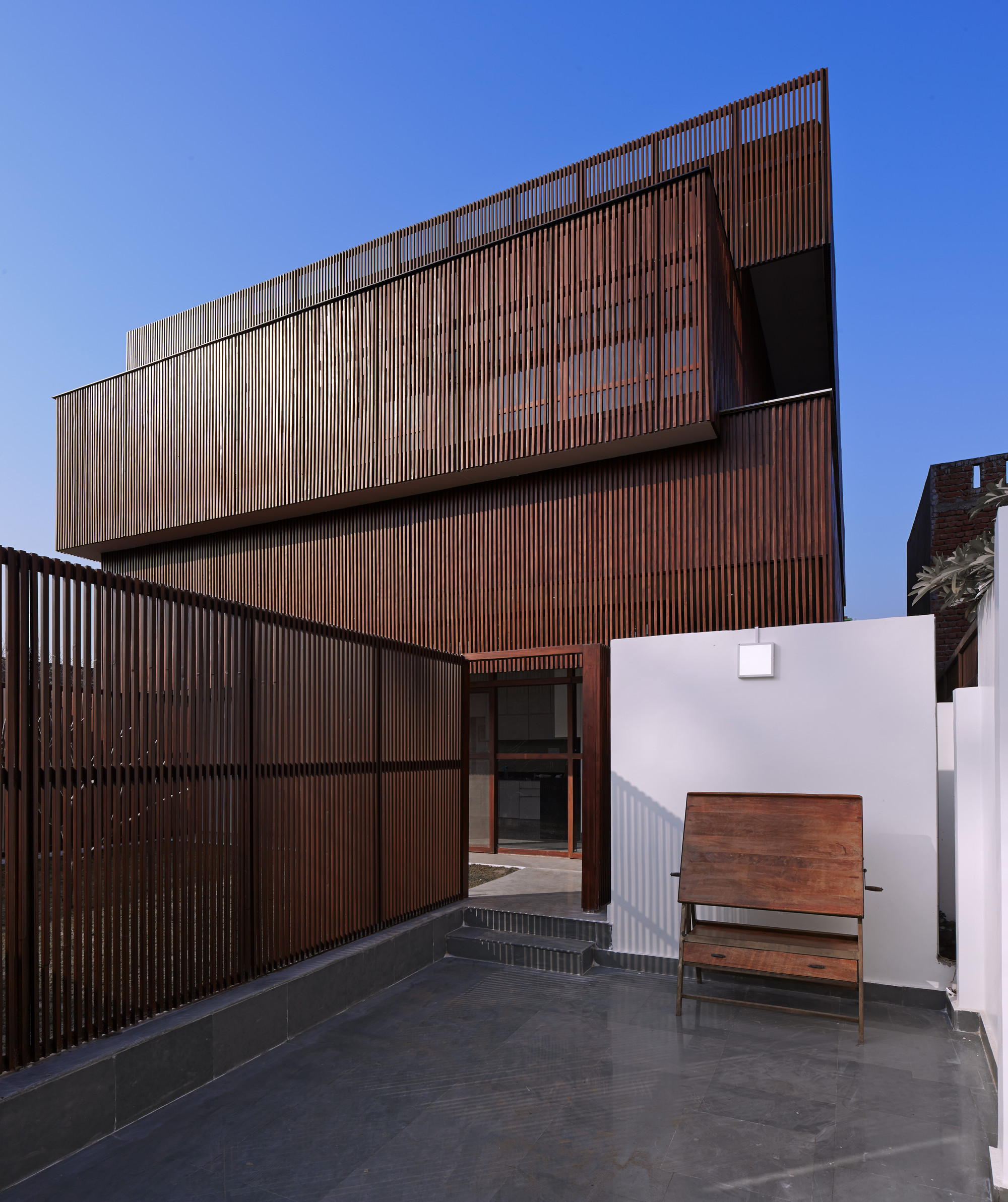 Lattice House Sameep Padora Amp Associates Archdaily