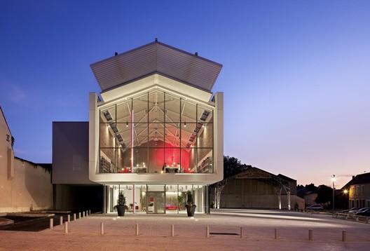 Auneau Cultural Center Architecture Patrick Mauger