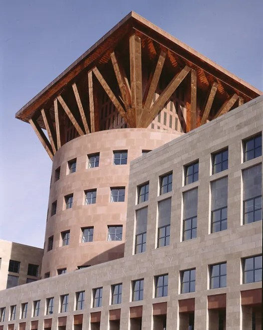 Denver Central Library (1990). Image © Michael Graves