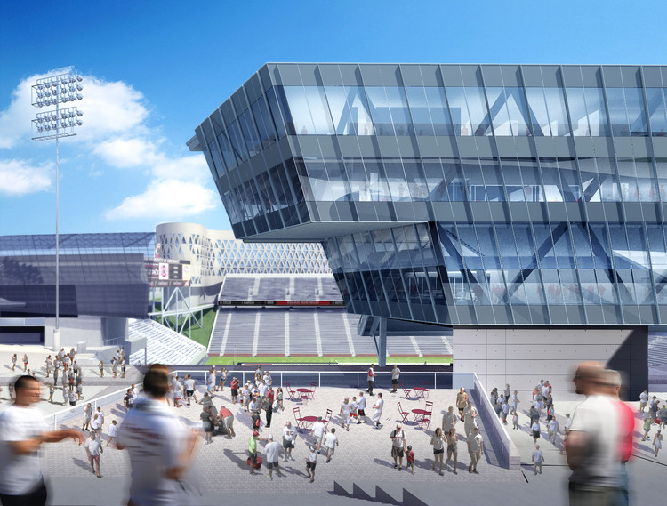 Uc Stadium Pictures Expansion Nippert