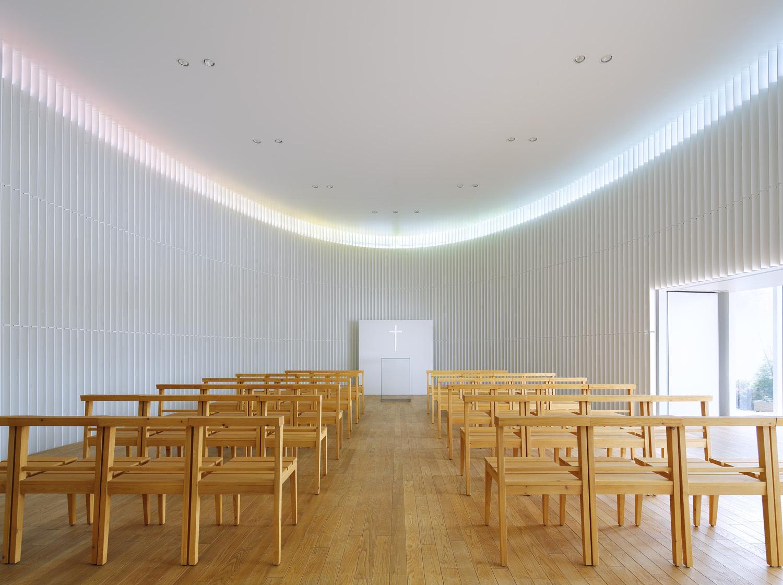 Rainbow Chapel Kubo Tsushima Architects ArchDaily