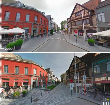 Stationsstraat, San Nicolás de Flandes, Bélgica. Cortesia de Urb-I