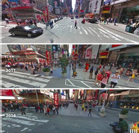 Times Square, Nova York, Estados Unidos. Cortesia de Urb-I