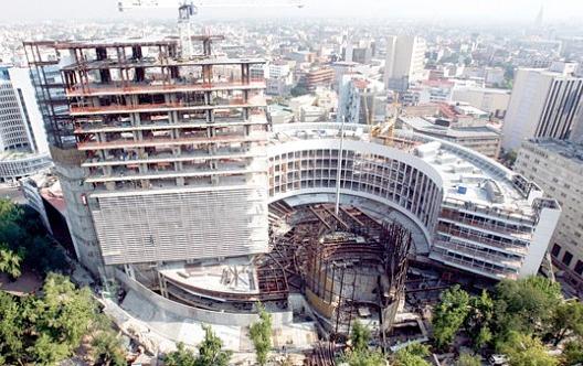 En Construcción: Nueva Sede del Senado Mexicano / Javier Muñoz Menéndez,Vía Reporteros del Sur