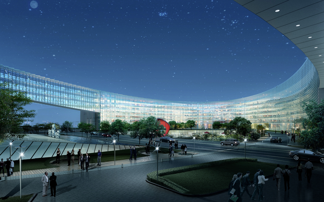Gallery Of Baidu Science And Technology Campus Zna